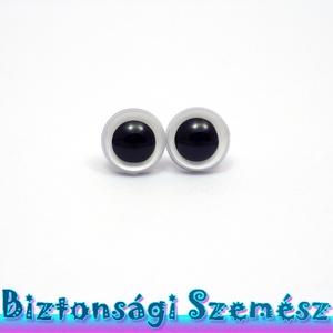 KIÁRUSÍTÁS 9 mm-es biztonsági szem fehér 2 db (1 pár), Gomb, Szépen csillogó felületű, szemet gyönyörködtető biztonsági szemek mosás- és gyerekbiztos hátsó réssz..., Meska