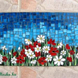 Virágmező mozaik kep (bkandrea) - Meska.hu
