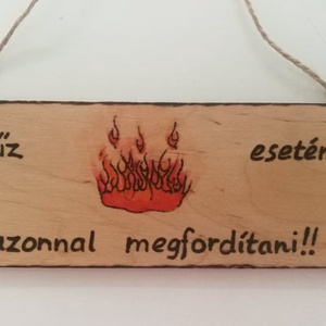 Vicces tábla - otthon & lakás - dekoráció - felirat - Meska.hu