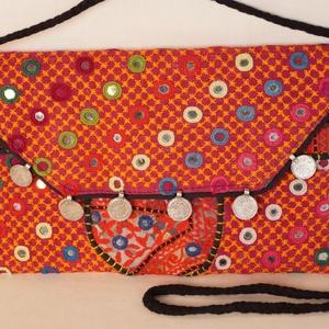AJÁNDÉKKAL! Boríték táska, kézzel hímzett, patchwork válltáska, kézi táska  2. (bkrisztina) - Meska.hu