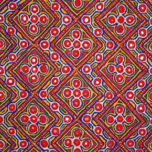 Tükör hímzett, színes tunika M- L-es méret (bkrisztina) - Meska.hu