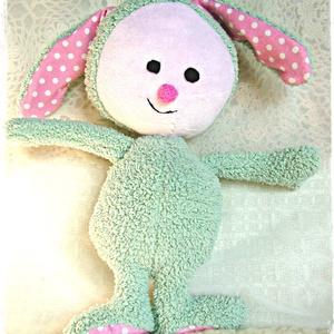Minty - Puha nyuszi - Bunny softie (Blackata) - Meska.hu