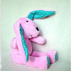 Puncs a puha nyuszi - Punch the softie bunny (Blackata) - Meska.hu
