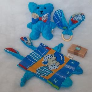 Babaköszőntő/Babaváró ajándékdoboz, Játék & Gyerek, Babalátogató ajándékcsomag, Varrás, Meska