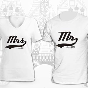 Mr. és Mrs. pólók - Meska.hu