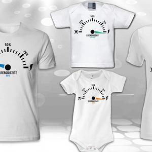 Energiaszintjelző pólók a családtagoknak , Póló, felső, Női ruha, Ruha & Divat, Fotó, grafika, rajz, illusztráció, Az ár 1 db pólóra vonatkozik!\nAnnyit tegyél belőle a kosárba, amennyi családtagak szeretnél belőle a..., Meska