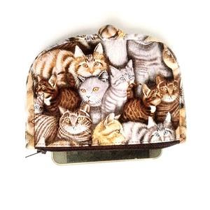Macska mintás pénztárca (Blaur) - Meska.hu