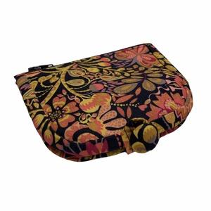 Színes lila pink virágos pénztárca, Táska & Tok, Pénztárca & Más tok, Pénztárca, A pénztárcák amiket készítek összehajtva: 12x12cm, kinyitva. 12x19cm méretűek .   A pénztárca külső ..., Meska