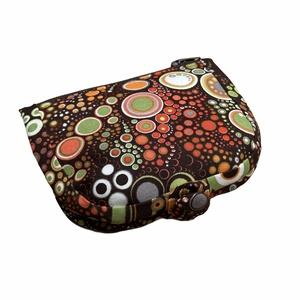 Barna buborékos pénztárca, Táska & Tok, Pénztárca & Más tok, Pénztárca, A pénztárcák amiket készítek összehajtva: 12x12cm, kinyitva. 12x19cm méretűek .   A pénztárca külső ..., Meska