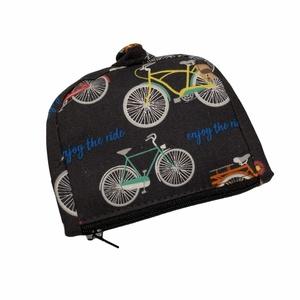 Kerékpár pénztárca, Táska & Tok, Pénztárca & Más tok, Pénztárca, A pénztárcák amiket készítek összehajtva: 12x12cm, kinyitva. 12x19cm méretűek .   A pénztárca külső ..., Meska