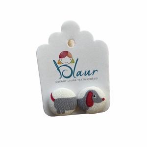 Tacskó mintás bedugós nikkelmentes gombfülbevaló, Ékszer, Fülbevaló, Pötty fülbevaló, Ékszerkészítés, A termék megnevezése: Gomb fülbevaló. \n \nSzínei: \n\nMérete: a gomb átmérője 1,6 cm\n\nNikkelmentes fülb..., Meska