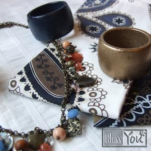 Napkeleti bölcsek - karácsonyi asztali szett, asztalközéppel, szalvétával és gyűrűkkel (Blessyou) - Meska.hu