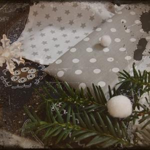 Betlehemi éjjel - karácsonyi ajándék, zsebkendő (Blessyou) - Meska.hu