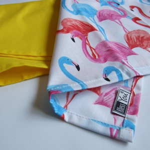 ÚJ! FLAMINGÓS textilzsebkendő szett  - 3 darabos, Táska, Divat & Szépség, Sál, sapka, kesztyű, Ruha, divat, Kendő, FLAMINGÓ rajongóknak:) készítettem ezt a vidám színes nyári zsebkendő szettet! Nem használtál eddig ..., Meska
