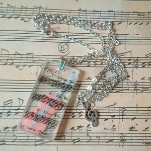 A zene a mindenem gyanta nyakék (blueklarion) - Meska.hu
