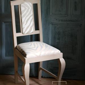 Egyedi design kárpitos szék -  vintage stílusban (bluer) - Meska.hu