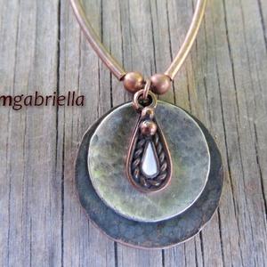 Harmónia - egyedi tervezésű medál - kézműves ékszer - ékszer - nyaklánc - medálos nyaklánc - Meska.hu