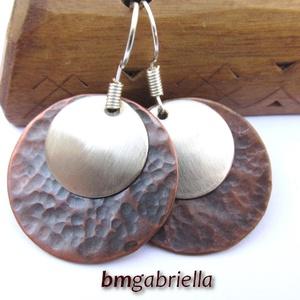 Holdkelte - kézműves fülbevaló (bmgabriella) - Meska.hu