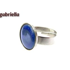 Tűzzománc gyűrű - egyedi tervezésű nemesacél kézműves gyűrű - állítható, modern gyűrű - orvosi fém, Ékszer, Statement gyűrű, Gyűrű, Ékszerkészítés, Tűzzománc, Meska