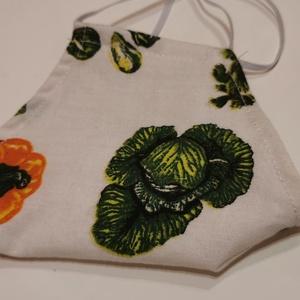 Mosható textil maszk