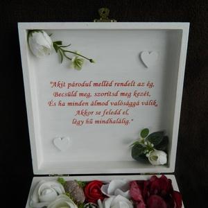 Pénzátadó doboz esküvőre (BoArtDekor) - Meska.hu