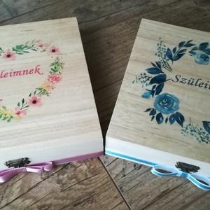 Szülőköszöntők párban (BoArtDekor) - Meska.hu