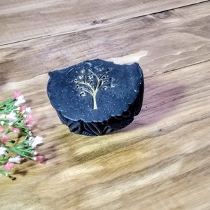 Fekete Szén - szenes arctisztító szappan pattanásos bőrre 100g, Szépségápolás, Szappan & Fürdés, Szappan, Szappankészítés, Fekete Szén - 100g\nVegán termék\n\nEz a szappan a zsíros, tág pórusú, pattanásos, aknés, illetve mites..., Meska
