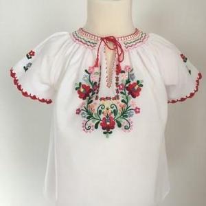 Hímzett kislány blúz, matyó blúz (Bobike33) - Meska.hu
