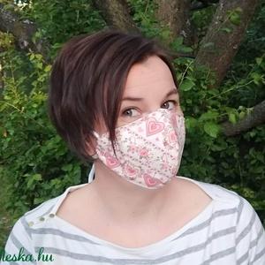 Szűrőbetétes maszk, #139 többféle méretben maszk, női maszk, gyerek maszk, mosható maszk, pamut maszk, maszk, Ruha & Divat, Maszk, Arcmaszk, Szűrőbetétes, Varrás, \nA boltomban lévő összes maszk választható férfi, női/kamasz, vagy gyermek méretben is.\n\nAz általam ..., Meska