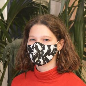 Szűrőbetétes maszk, #160 többféle méretben maszk, női maszk, gyerek maszk, mosható maszk, pamut maszk, maszk, Ruha & Divat, Maszk, Arcmaszk, Szűrőbetétes, Varrás, \nA boltomban lévő összes maszk választható férfi, női/kamasz, vagy gyermek méretben is.\n\nAz általam ..., Meska