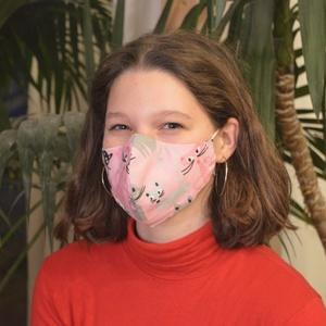 Szűrőbetétes szájmaszk, #155 többféle méretben szájmaszk, női szájmaszk, kamasz szájmaszk, pamut szájmaszk, szájmaszk, Maszk, Arcmaszk, Női, Varrás,                                                                                                     ..., Meska