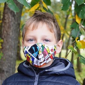 Szűrőbetétes szájmaszk, #156 többféle méretben szájmaszk, kamasz szájmaszk, gyerek szájmaszk, szájmaszk, pamut szájmaszk, Maszk, Arcmaszk, Szűrőbetétes, Varrás,                                                                                                     ..., Meska