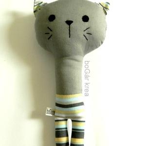 Nyurga macska - csörgő  (boGarkrea) - Meska.hu