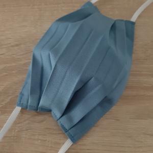 Drótos textil arcmaszk férfiaknak - világos farmerkék, Maszk, Arcmaszk, Férfi & Uniszex, Varrás, Meska