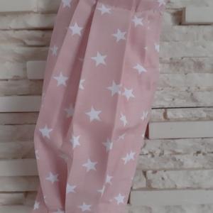 Gyermek textil maszk - pasztell rózsaszín, csillagos, Maszk, Arcmaszk, Gyerek, Varrás, Meska