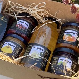 Aszalt somos doboz, Élelmiszer, Gyümölcs, zöldség, Élelmiszer előállítás, Válogatás a Bogyódomb gyümölcsös termékeiből. Szeretettel ajánljuk kóstolónak vagy ajándéknak...., Meska