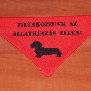 Egyedi kutya kendő, Állatfelszerelések, Lakberendezés, Otthon & lakás, Kutyafelszerelés, Szerelmeseknek, Ünnepi dekoráció, Dekoráció, Varrás, Mindenmás, Kutyák nyakörvére húzható kendőcske\n\nSokféle méretben és színben készítem, egyedi egyeztetés alapján..., Meska