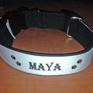Egyedi feliratos kutyanyakörv (BolDog) - Meska.hu