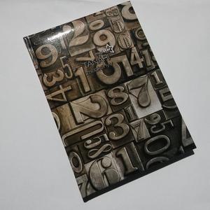 valódibőr tanári napló, monogrammal (BomBomok) - Meska.hu