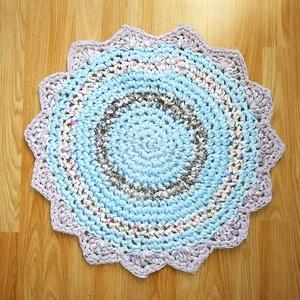 babaszoba szőnyeg pólóanyagból (BomBomok) - Meska.hu