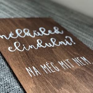 Esküvői tábla, fa tábla, fotó tábla, hashtag, # - Meska.hu