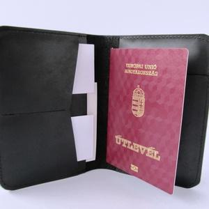 Útlevéltok,valódi bőr útlevéltartó, bankkártyatartó, Táska, Táska, Divat & Szépség, Pénztárca, tok, tárca, Férfiaknak, Egyéb, Bőrművesség, Varrás, Utazz stílusosan! Valódi bőrből készült útlevéltartó. Belefér az útlevél, beszállókártya, személyi i..., Meska