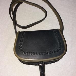 Szironyozott fedelű táska  pénztárcával  (borboszi) - Meska.hu