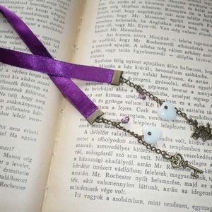 Alice in Wonderland - ciklámen szatén könyvjelző (Boriboszi) - Meska.hu