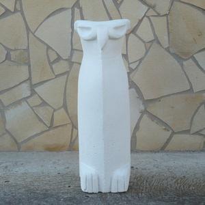 Nagy bagoly - egyedileg kézzel faragott kültéri szobor (60cm magas)  (Boriboszi) - Meska.hu