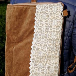 2 az 1-ben táska, Táska, Divat & Szépség, Táska, Hátizsák, Válltáska, oldaltáska, Válltáskaként és háti táskaként is használható. Karabinerekkel variálható. Újrahasznosított alapanya..., Meska