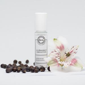 GYÖKERET ERESZTEK természetes parfüm - természetes harmonizáló illóolajkeverék - aromaterápia - aroma roll-on, Dezodor & Parfüm, Szépségápolás, Kozmetikum készítés, Markánsan mély, földes-gyökeres jellegű illóolajos keverék mandulaolajba ágyazva, belélegezve vagy b..., Meska