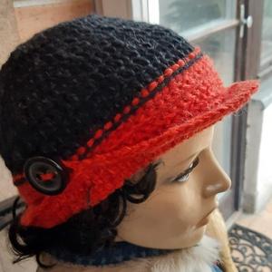 Női sapka vagy kalap: Carmen, Táska, Divat & Szépség, Ruha, divat, Sál, sapka, kesztyű, Sál, Sapka, Horgolás, Gondold ki milyen legyen, elkészítem a megfelelő méretre ezt a tündéri kalapot, ami a bal felén sapi..., Meska