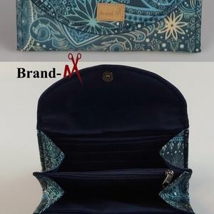 Orientális mintájú vízálló �KRISZTI kártyatartós női pénztárca - táska & tok - pénztárca & más tok - pénztárca - Meska.hu