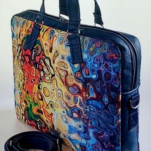 Vibráló színes vízálló női laptop táska (BrandM) - Meska.hu